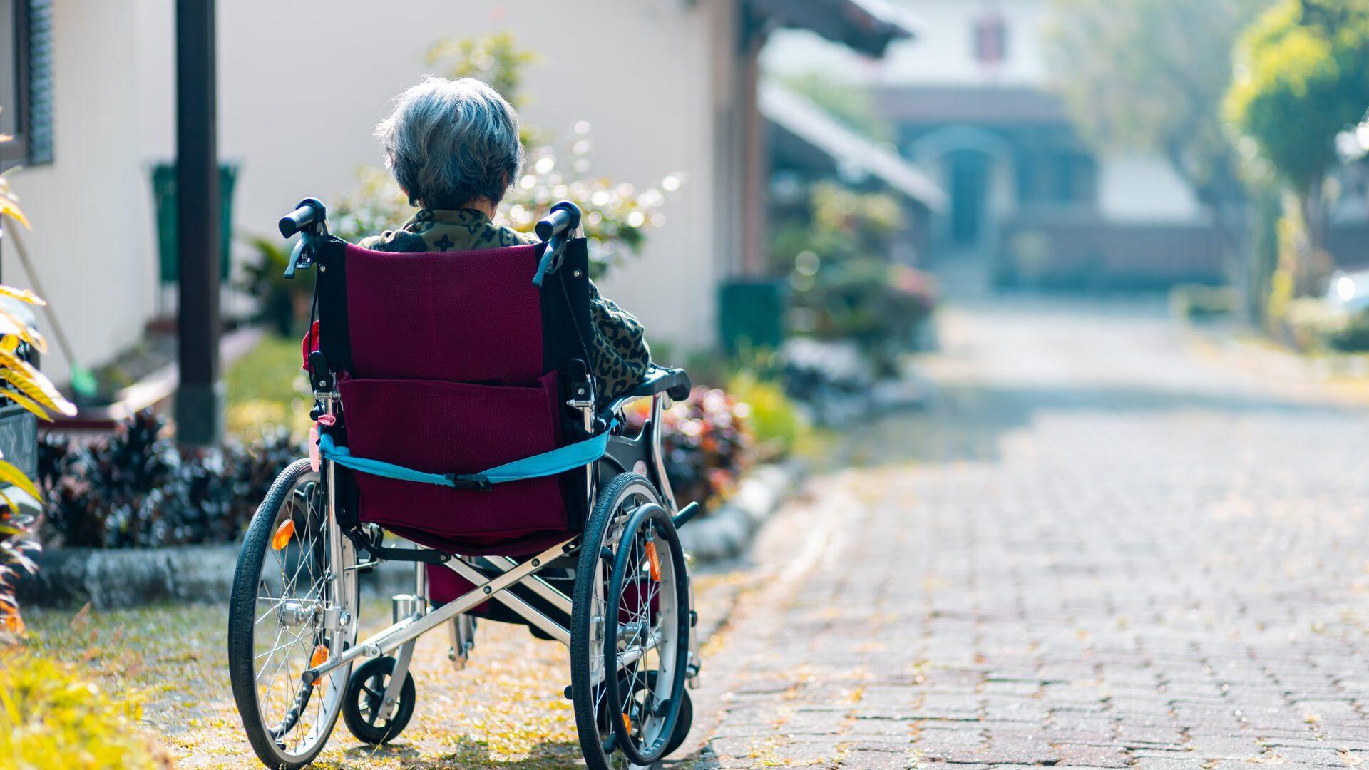 Bedingt abziehbar: Rollstuhlgerechte Umbaumaßnahmen im Garten